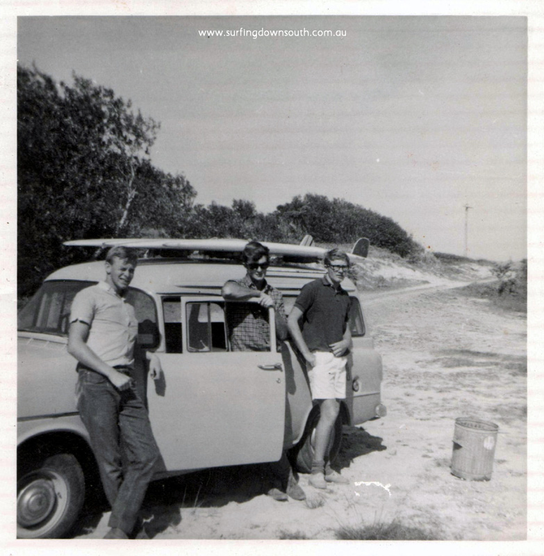 1960s Surf Trips Down South: Surfing Down South Book