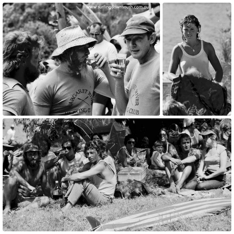 1978 MR Rowing Regatta Race4 competitors collage_photocat