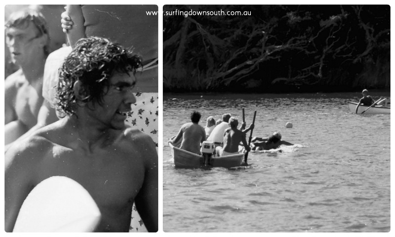 1978 MR Rowing Regatta race2 paddle Sam Sadleir collage_photocat