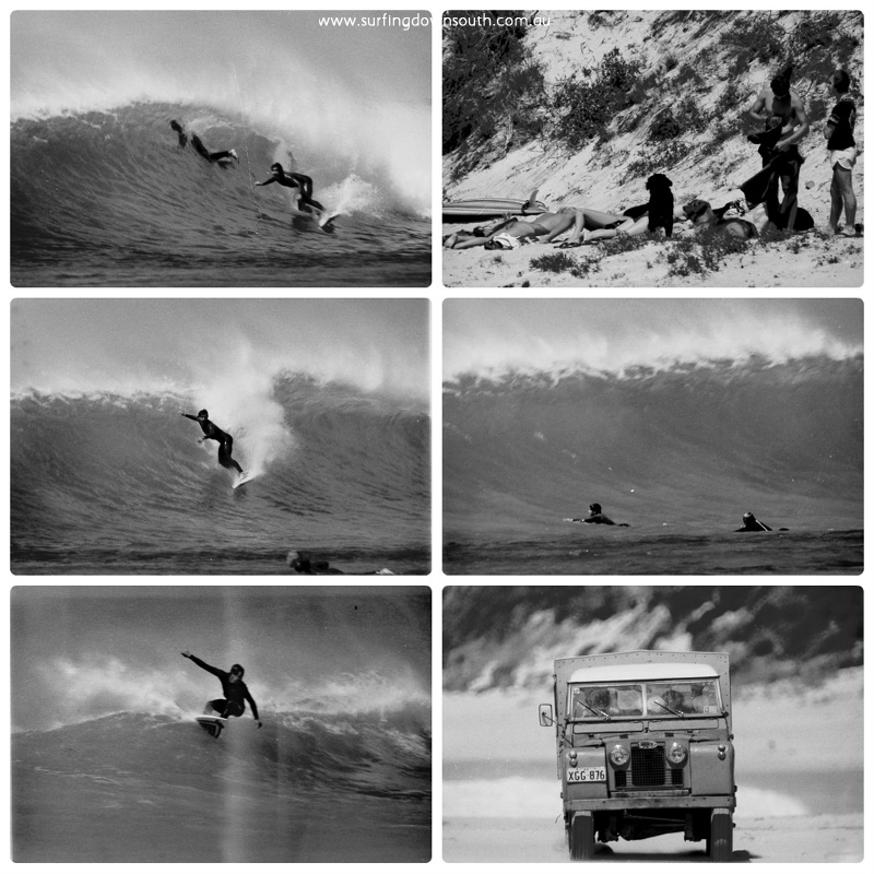 1980 The Farm surfing Ric Chan collage_photocat