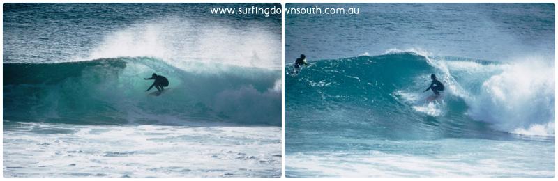 2000s Peter Mac surfing Injidup Car Park collage_photocat
