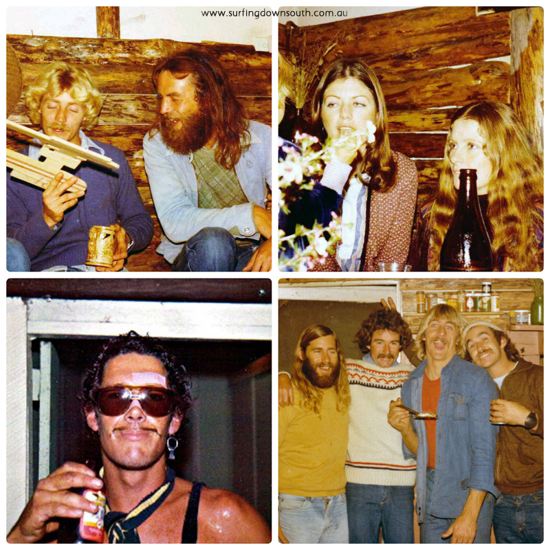1970s Capel party various collage_photocat