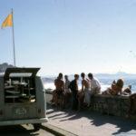 1963 France Cote de Basque Kombi & boys on wall 2 - Brian Cole  img660
