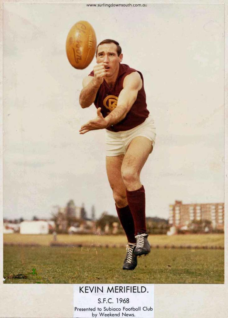 1957-68 Subiaco FC Kevin Merifield SFC 213 games & 4 State games - Weekend News IMG