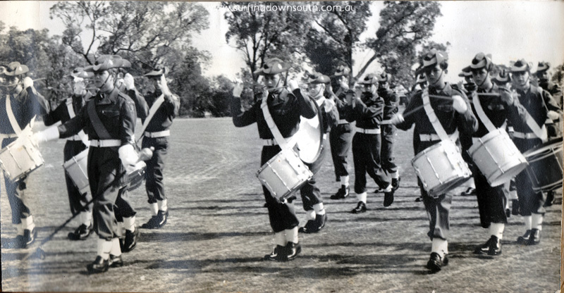 1960s Hale School Army Cadet Band Peter Dyson Band Major - PD pic IMG_0036