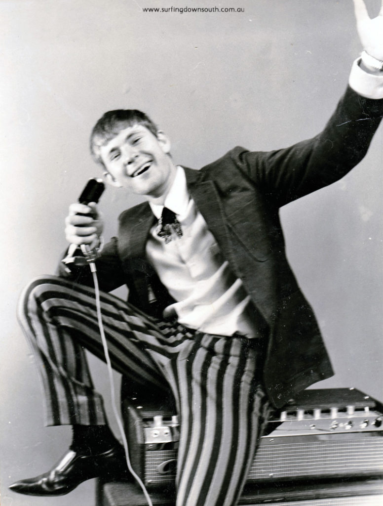 1965 The Banned lead singer Peter Dyson - PD pic IMG_0048