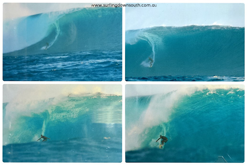 2000s Fiji Cloudbreak Rich Myers towed in by Kobi Abberton last wave of day DSC-1767