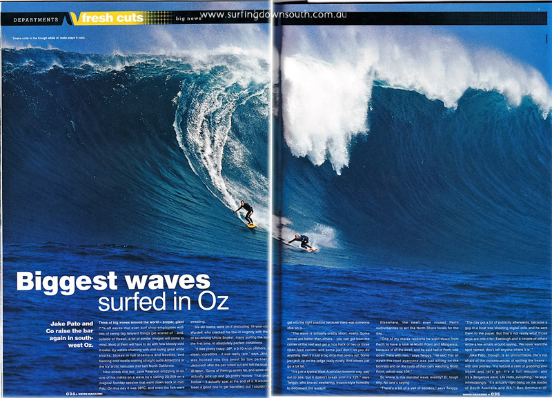 2004 Cow Bombie Jake & Mo Waves Mag - Twiggy pic 1 IMG_002