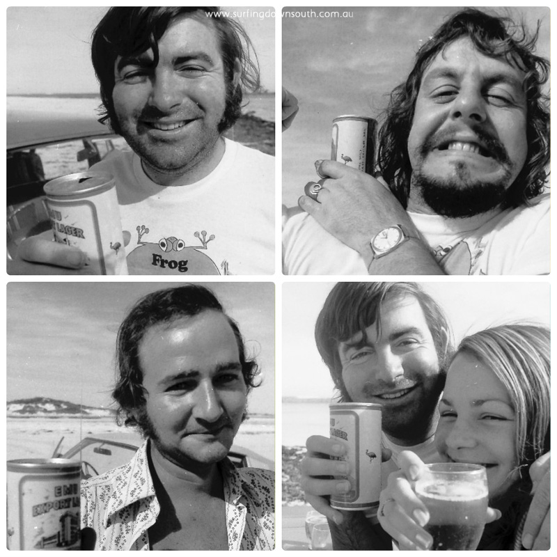 1970s Lancelin beach social #2 collage_photocat