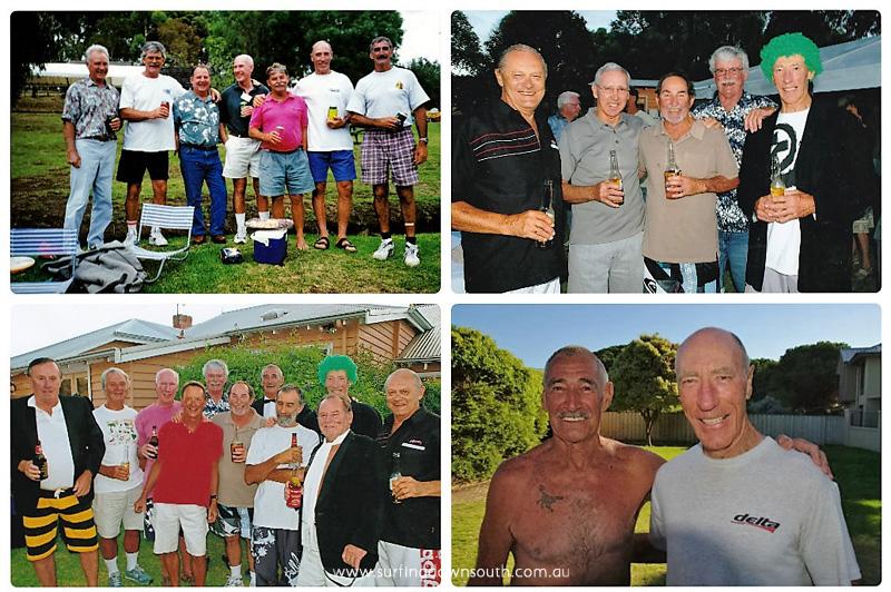 2008 -12 Kevin Merifield 70th birthday & Harbo 1 collage_photocat