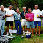 2008 Millbrook Kevin's 70th R Fussell, D Williams, Patto, J Keenan, Cocko Killen, Kevin & Harbo - K Merifield pic IMG_01a