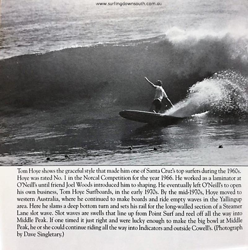 1965-66 Tom Hoye surfing Steamer Lane USA - Images of America book 2009 IMG_0497