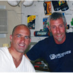 2007 Yalls Kelly Slater & Andy Jones at Andys Shop - Andy Jones pic cropped_0007