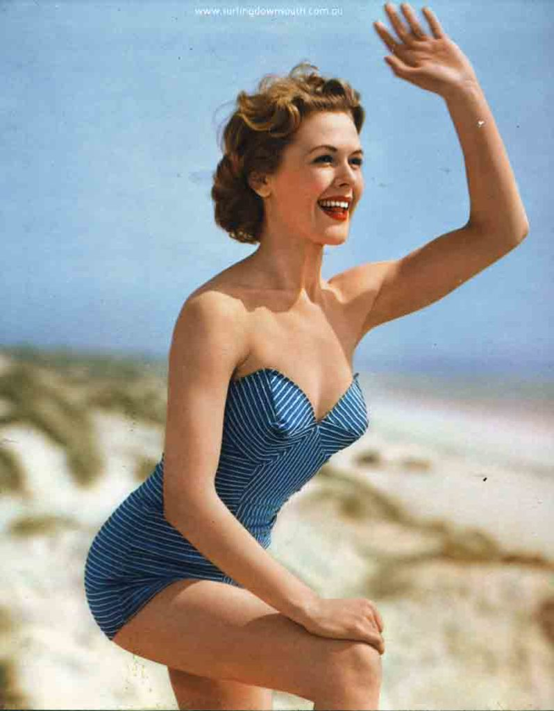 1950s unknown pinup girl - John Budge pic img367