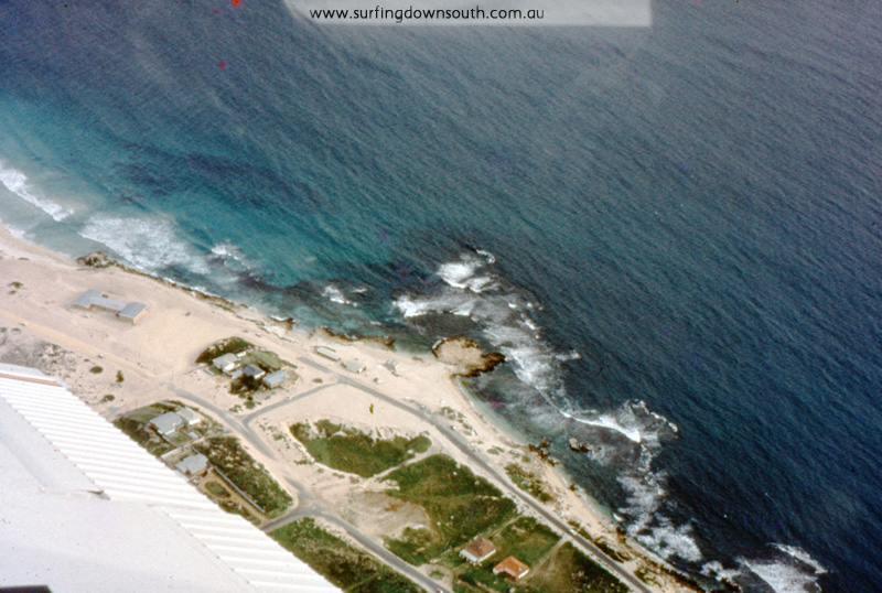 1967 Trigg Beach early spring aerial- Jim Breadsell pic