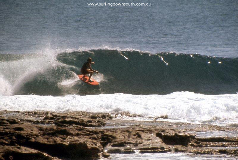 1969 Kalbarri Jacques Pt Murray Smith surfing - Jim Breadsell pic1