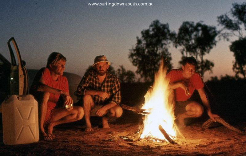 1969 NW Karratha camp site on Ashburton River Murray Smith, Jim Breadsell & Gerry Karaha - Jim Breadsell pic1